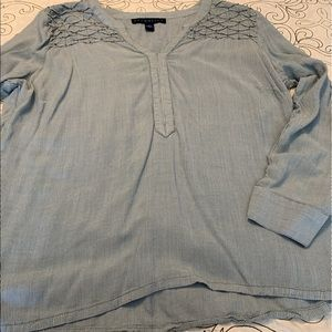 Bandolino- long sleeve blouse